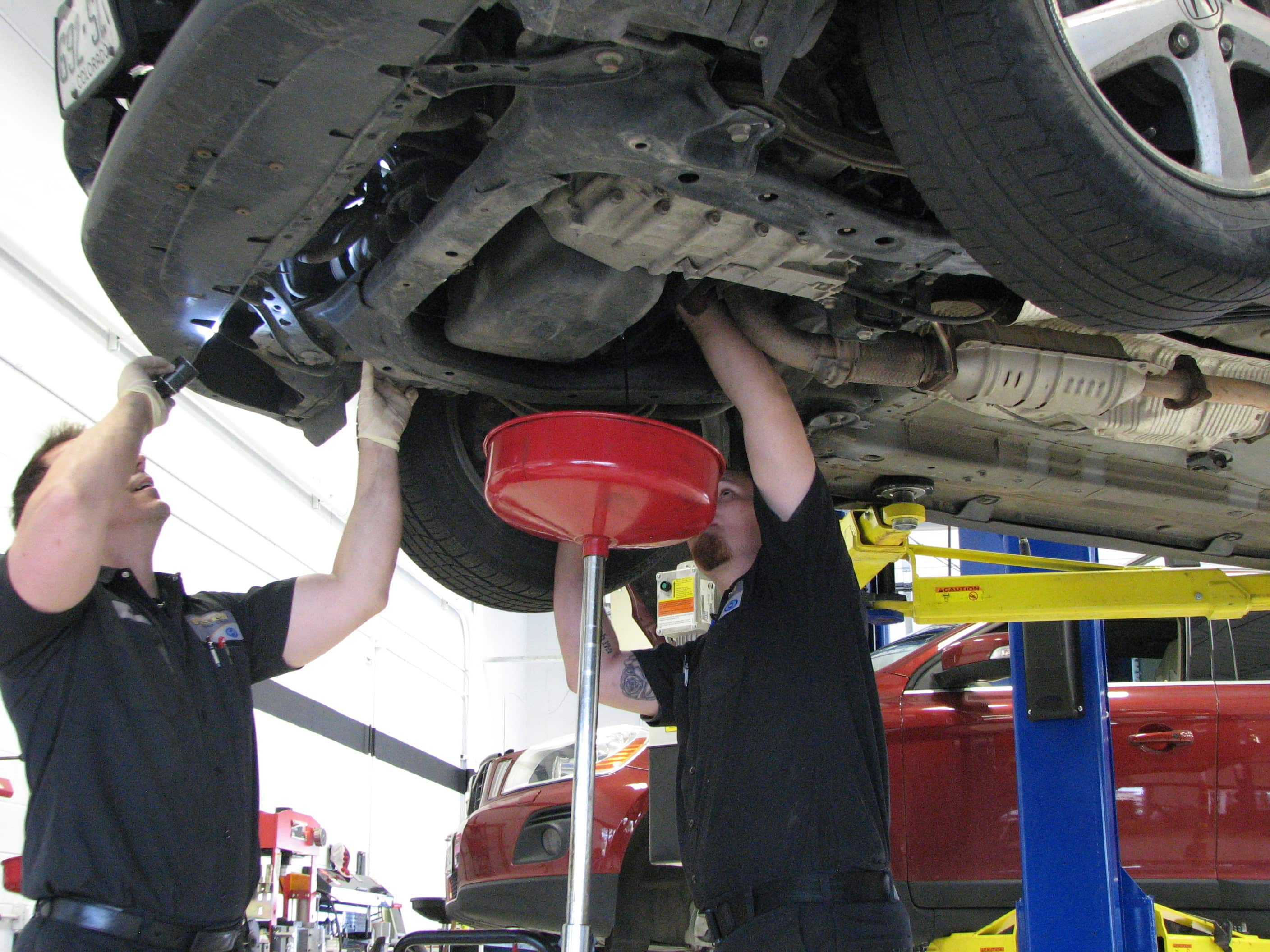 oil change 2 - How Frequent Auto Servicing Can Extend the Life of Your Car
