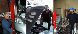 auto mechanic who fixes air conditioning problems