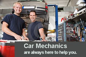 car mechanics are here to help you
